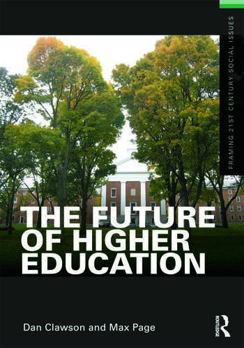 The Future of Higher Education book cover