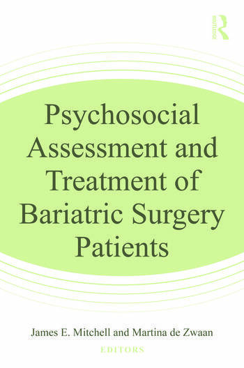 Psychosocial Assessment and Treatment of Bariatric Surgery Patients book cover