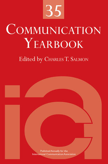 Communication Yearbook 35 book cover