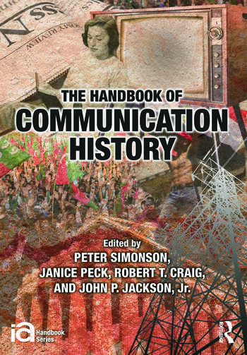The Handbook of Communication History book cover