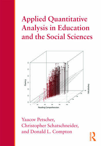 Applied Quantitative Analysis in Education and the Social Sciences book cover