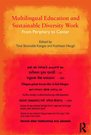 Multilingual Education and Sustainable Diversity Work From Periphery to Center book cover
