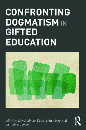 Confronting Dogmatism in Gifted Education book cover