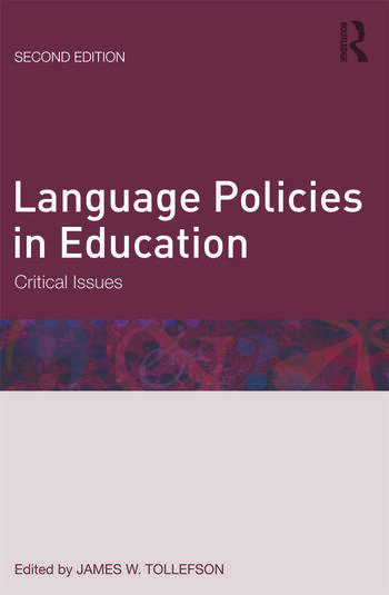 Language Policies in Education Critical Issues book cover