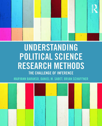 Understanding Political Science Research Methods The Challenge of Inference book cover