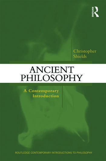 Ancient Philosophy A Contemporary Introduction book cover