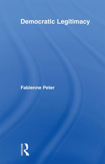 Democratic Legitimacy book cover