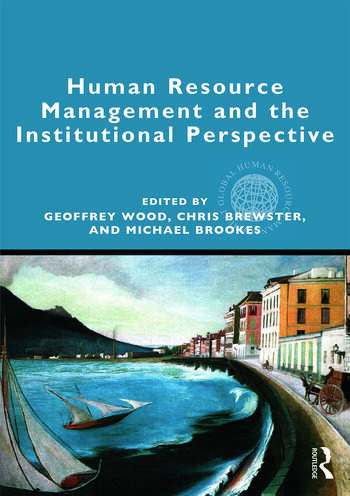 Human Resource Management and the Institutional Perspective book cover