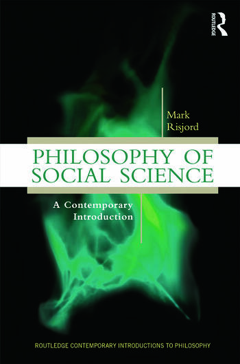 Philosophy of Social Science A Contemporary Introduction book cover