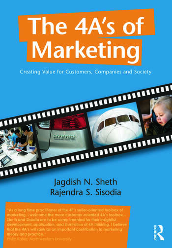 The 4 A's of Marketing Creating Value for Customer, Company and Society book cover