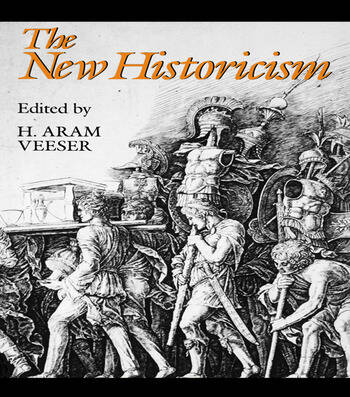 The New Historicism book cover