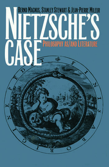 Nietzsche's Case Philosophy as/and Literature book cover