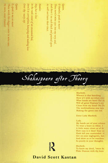 Shakespeare After Theory book cover