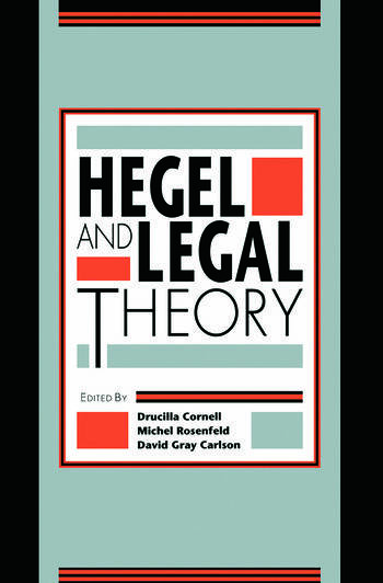 Hegel and Legal Theory book cover
