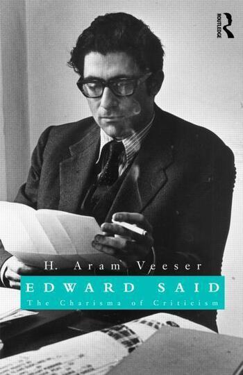 Edward Said The Charisma of Criticism book cover