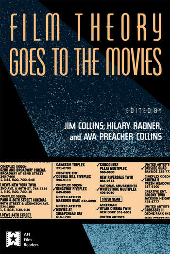 Film Theory Goes to the Movies Cultural Analysis of Contemporary Film book cover