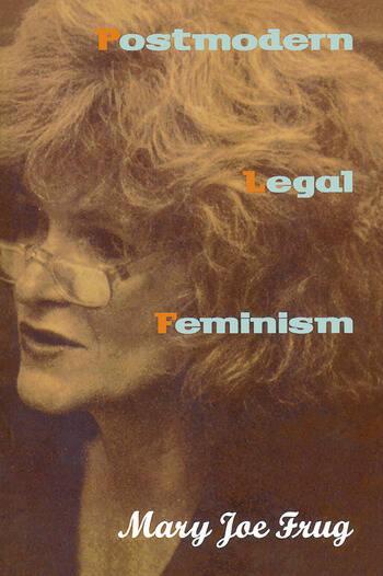 Postmodern Legal Feminism book cover
