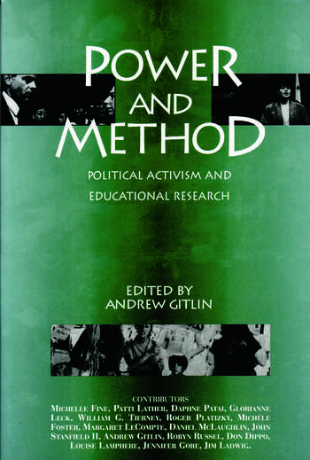 Power and Method Political Activism and Educational Research book cover