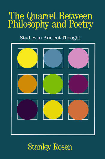 The Quarrel Between Philosophy and Poetry Studies in Ancient Thought book cover