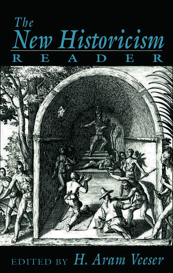 The New Historicism Reader book cover