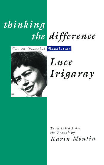 Thinking The Difference book cover