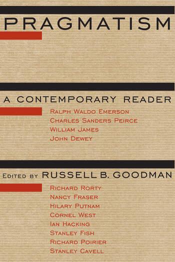 Pragmatism A Contemporary Reader book cover