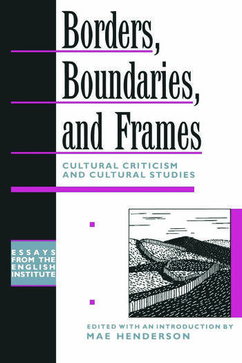 the role of borders and boundaries Nigeria – cameroon border relations: an analysis of borders and boundaries both denote lines role of international boundaries in the recent times is.