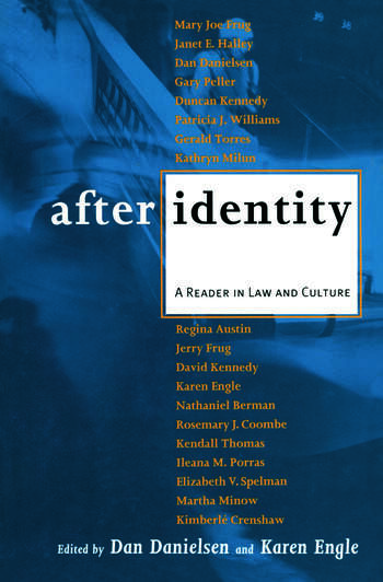 After Identity A Reader in Law and Culture book cover