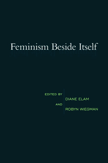 Feminism Beside Itself book cover