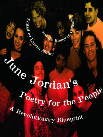 June Jordan's Poetry for the People A Revolutionary Blueprint book cover