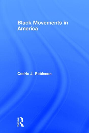 Black Movements in America book cover