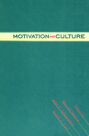 Motivation and Culture book cover