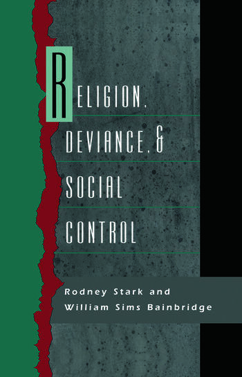 Religion, Deviance, and Social Control book cover