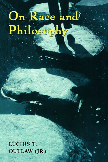 On Race and Philosophy book cover