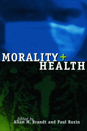 Morality and Health book cover