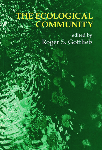 The Ecological Community book cover