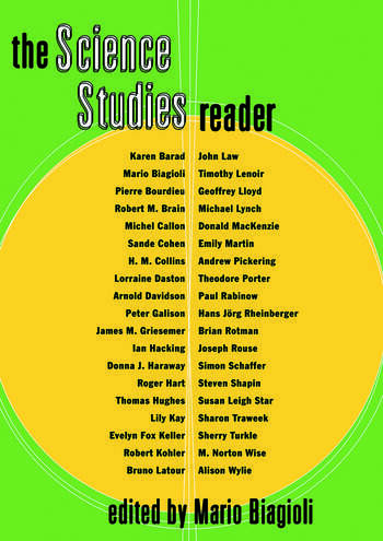 The Science Studies Reader book cover