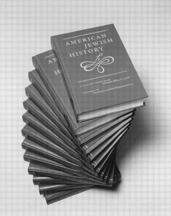 American Jewish History book cover