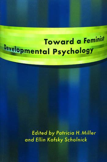 Toward a Feminist Developmental Psychology book cover