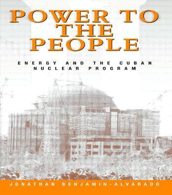 Power to the People Energy and the Cuban Nuclear Program book cover