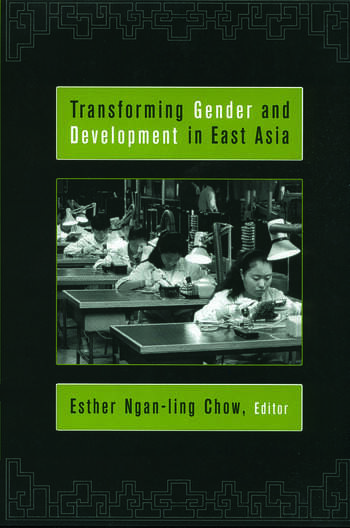 Transforming Gender and Development in East Asia book cover