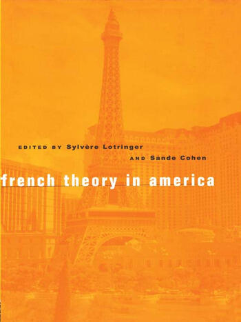 French Theory in America book cover
