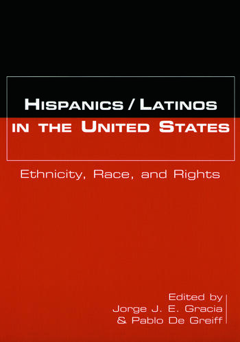 Hispanics/Latinos in the United States Ethnicity, Race, and Rights book cover