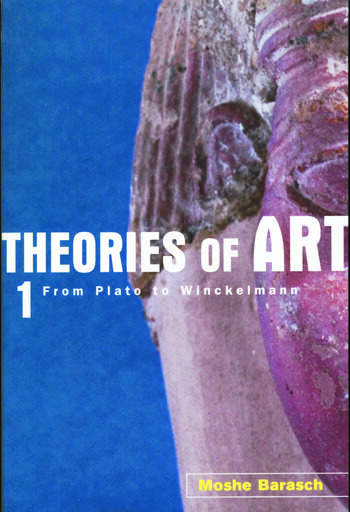 Theories of Art 1. From Plato to Winckelmann book cover