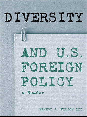 Diversity and U.S. Foreign Policy A Reader book cover