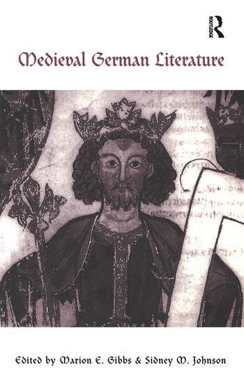Medieval German Literature A Companion book cover