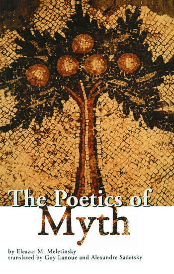 The Poetics of Myth book cover