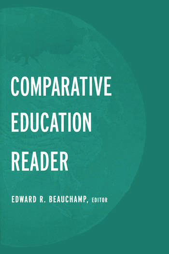 The Comparative Education Reader book cover