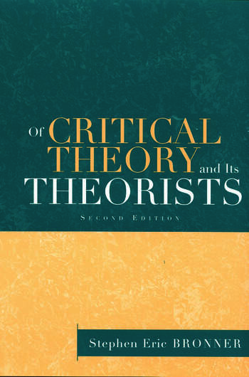 Of Critical Theory and Its Theorists book cover