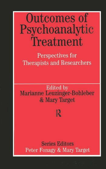 Outcomes of Psychoanalytic Treatment book cover